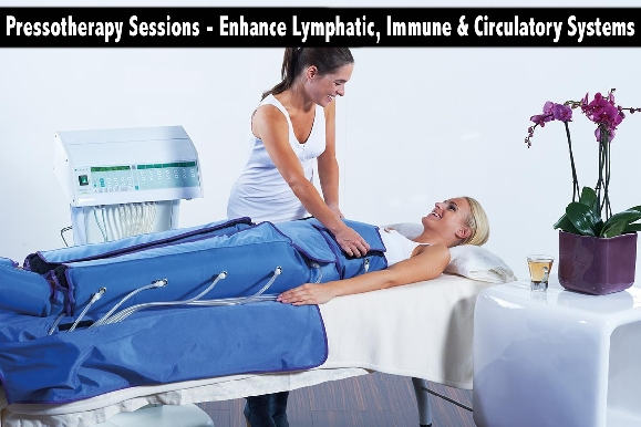 Pressotherapy Sessions - Enhance Lymphatic, Immune & Circulatory Systems