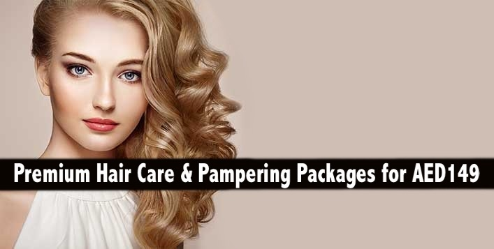 Hair Color, Keratin, Cellophane, Haircut or Hair Spa for only AED149