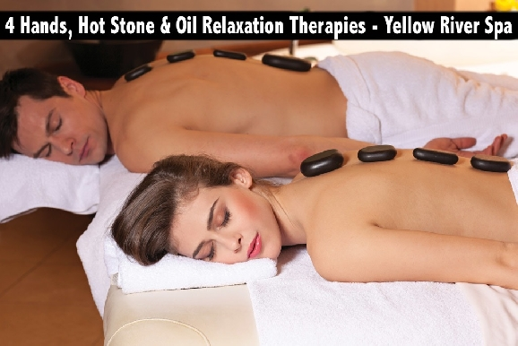 4 Hands, Hot Stone & Oil Relaxation Therapies - Yellow River Spa Karama