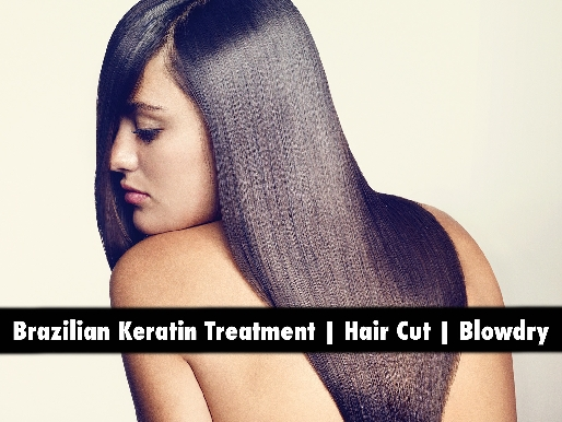Premium Brazilian Crystal Keratin Treatment for any hair length AED299