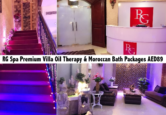 RG Spa Premium Villa Oil Therapy & Moroccan Bath Packages AED89