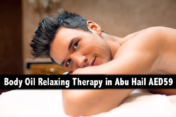 60mins Full Body Oil Relaxation Therapy for only AED59 - Abu Hail