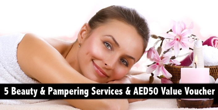 Any 5 Beauty or Pampering Services with AED50 Value Voucher - Bodyline
