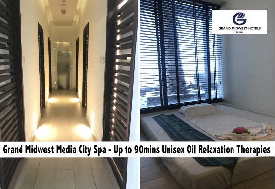 Grand Midwest Media City Spa - Up to 90mins Oil Relaxation Spa Therapies