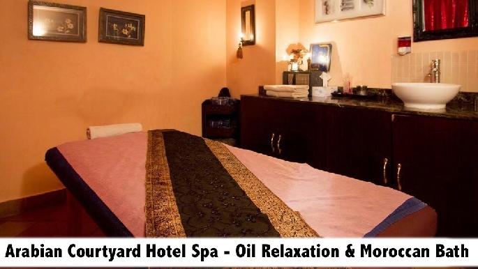 Arabian Courtyard Hotel Spa - Arabic & Thai Oil Therapy & Moroccan Bath