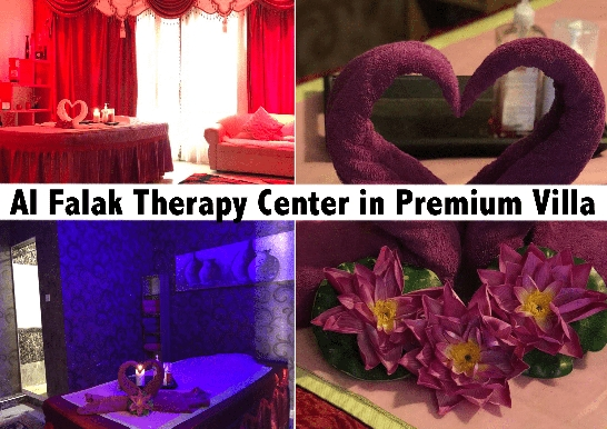 Al Falak Therapy Center -  Villa Premium Oil Therapy & Moroccan Bath AED89