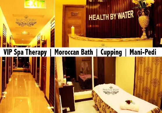 Health By Water Spa - VIP Full Body Therapy, Foot Reflexology, Moroccan Bath