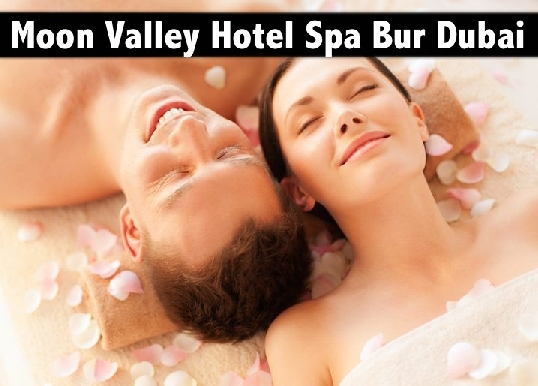 Moon Valley Hotel Spa Bur Dubai - 1hr Oil or Lotion Relaxation Spa AED59