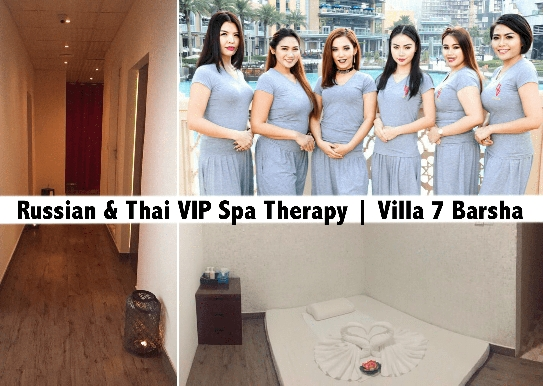Russian & Thai Oil Relaxation Therapy in Al Barsha - Villa 7 Spa
