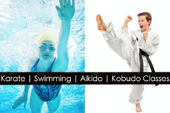 Karate | Swimming | Aikido | Kobudo | Yoga Classes for Kids & Adults