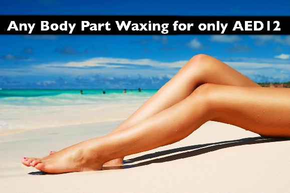 1 Body Part Waxing for only AED12 at Maira Salon in Al Karama (opp. Burjuman)