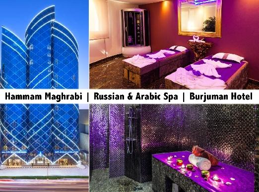 City Seasons Hotel Burjuman Spa - Hammam Maghrabi, Russian, Thai, African Spa