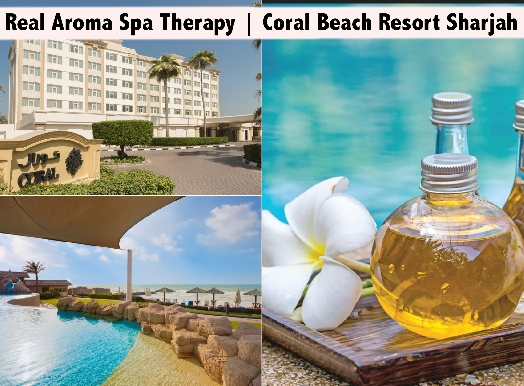 Coral Beach Resort Sharjah - 60mins Real Aroma Spa Therapy AED129