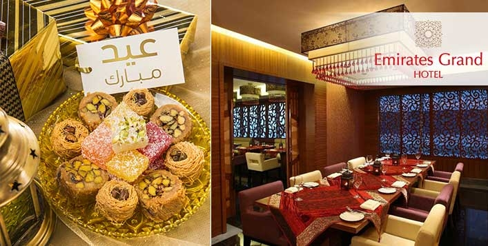 Eid Lunch & Gala Dinner at Emirates Grand Hotel - Sheikh Zayed Road