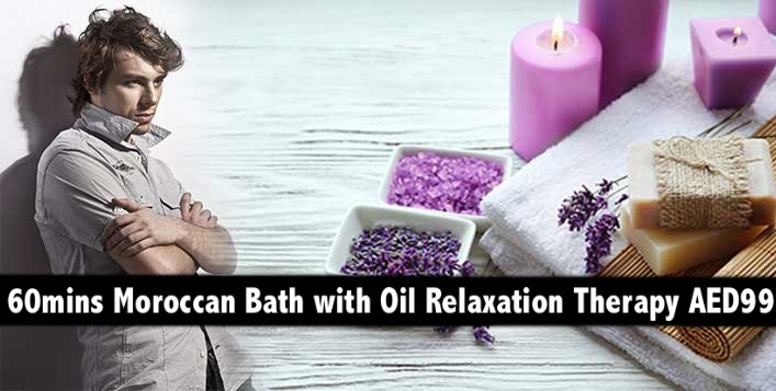 60mins Moroccan Bath with Oil Relaxation Therapy AED99 - Exotic Spa