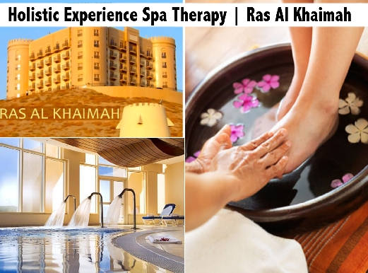 Golden Tulip Khatt Ras Al Khaimah Holistic Experience Spa Therapy AED139