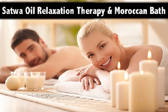 Satwa Oil Relaxation Therapy & Moroccan Bath with Steam from AED69