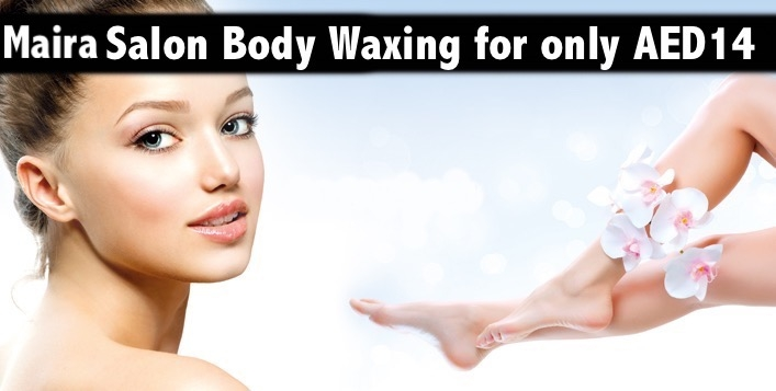 1 Body Part Waxing for only AED14 at Maira Salon in Al Karama (opp. Burjuman)