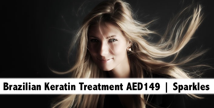 Brazilian Keratin Straightening Treatment + Hair Mask from only AED149