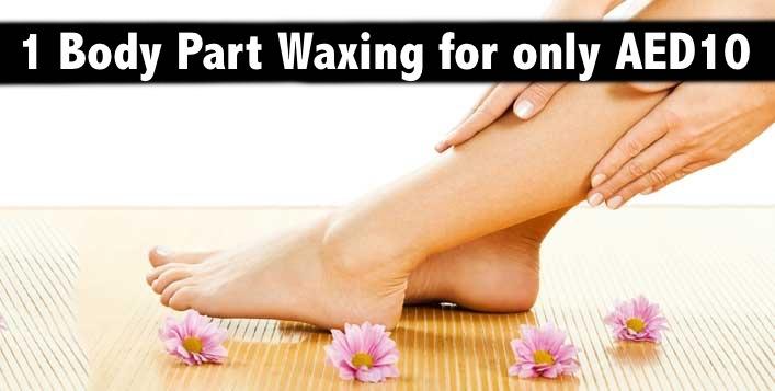 AED10 Waxing (Any 1 Body Part Waxing) - Aura Australian Beauty Center