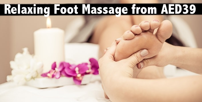 Foot Massage, Head & Shoulder Massage at Emirates Concorde Hotel from AED39