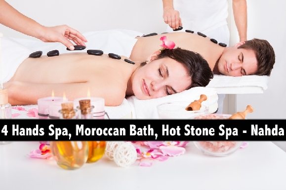 Nahda Oil Relaxation Therapy, Moroccan Bath & 4 Hands Spa Therapy