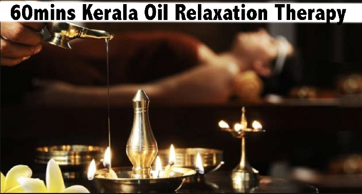 Kerala 1 hour Full Body Oil Relaxation Therapy Al Karama AED69