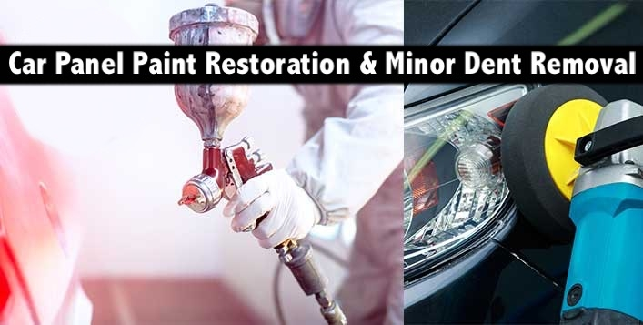 Paint Restoration for Car Panels from AED199 - with Minor Dent Removal