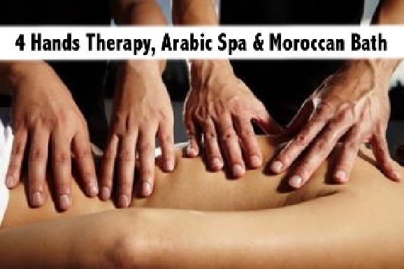 Arabic, 4 Hands Therapy, Moroccan Bath Al Karama - Pearl Harbour Spa