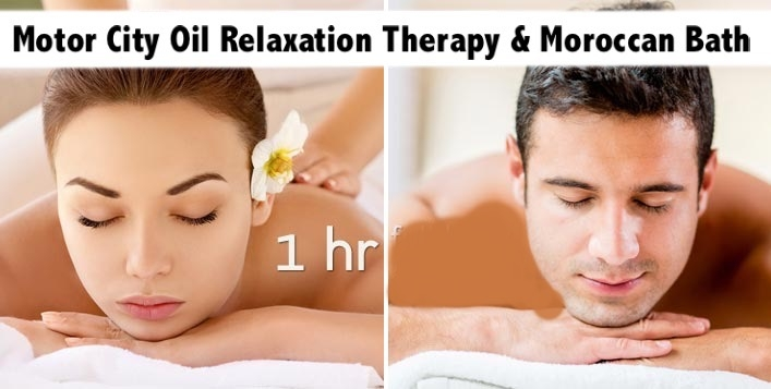Motor City Siam Royal Spa - Oil Relaxation Therapy & Moroccan Bath