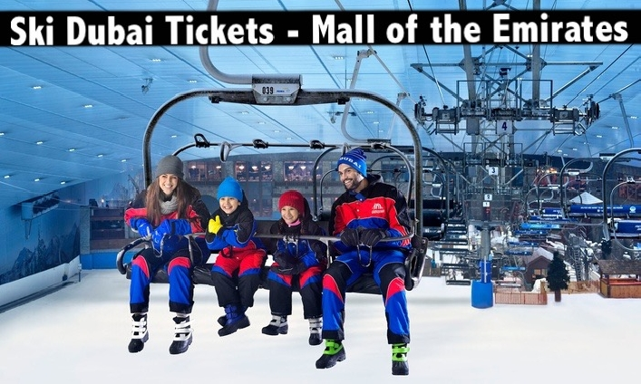 Ski Dubai Snow Classic Pass or Daycation Pass - Mall of the Emirates