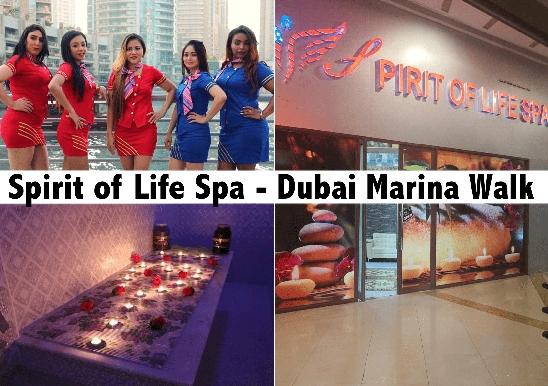 Arabic, Thai, Ethiopian Spa Therapy on Marina Walk - Spirit of Life Spa