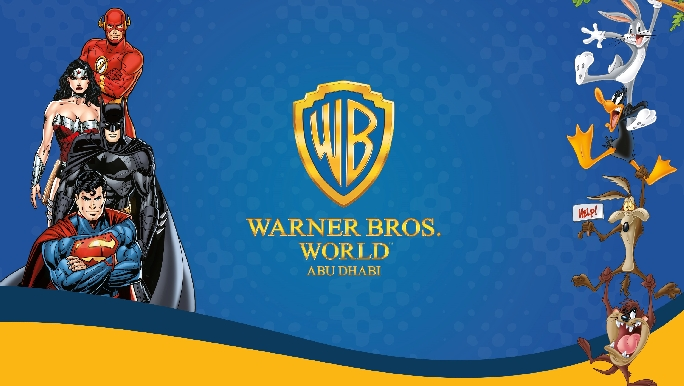 Warner Bros. World Tickets Abu Dhabi for AED269 - Valid on all Days!