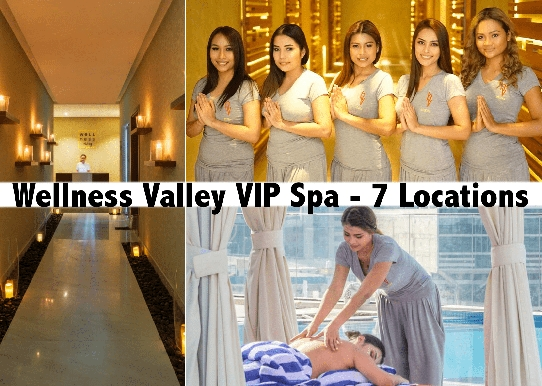 Wellness Valley VIP Massage - SZR, Palm, JLT, Deira, B.Bay, Barsha & RAK