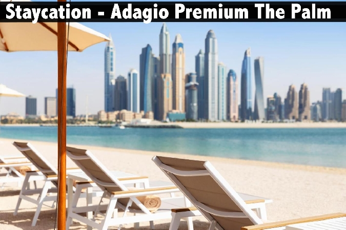 Staycation - Adagio Premium The Palm with Breakfast & Private Beach