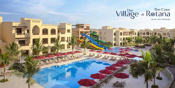 Staycation - The Village at Cove Rotana RAK - All Inclusive