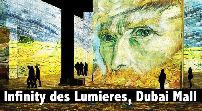 Infinity Des Lumieres, Dubai Mall - Child (AED75), Adult (AED119)