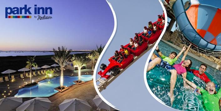 2 Nights, Park Inn by Radisson with Ferrari World, Warner Bros & Yas Waterpark