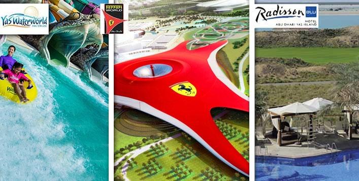 2 Nights Yas Island Staycation with Ferrari World, Warner Bros, Yas Waterpark