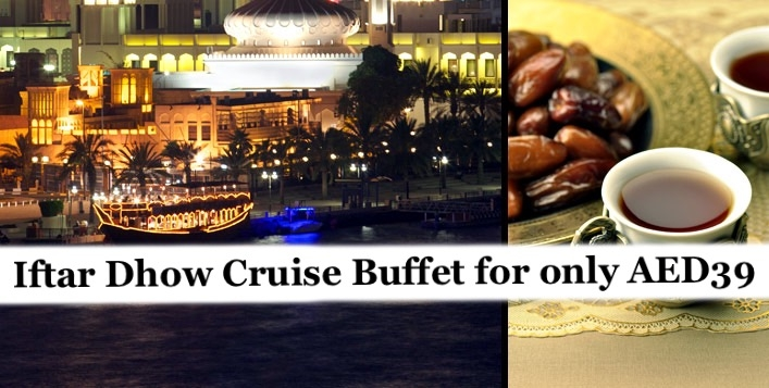 Iftar Buffet in Dubai Deira Creek Cruise (2hours) for only AED39