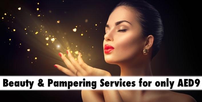 AED9 Beauty & Pampering Services - Dazzle Divalicious Salon Bur Dubai