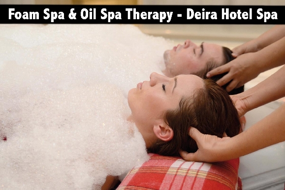 Foam Spa Therapy (AED79) or Oil Spa Therapy (AED59) - Deira Hotel Spa