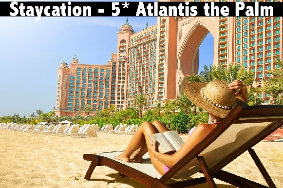 Staycation - 5* Atlantis The Palm stay with Half Board + FREE Aquaventure