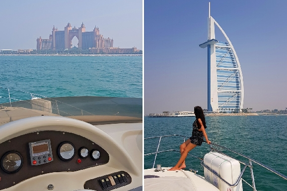 Yacht Trip in Dubai Marina for only AED249 - Cruising or Fishing Trip