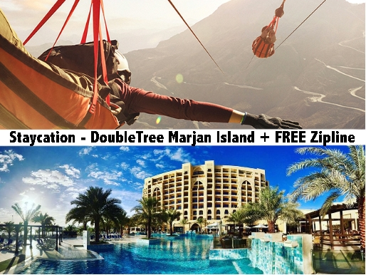 DoubleTree by Hilton Resort & Spa, Marjan Island RAK - Free Zipline Tickets