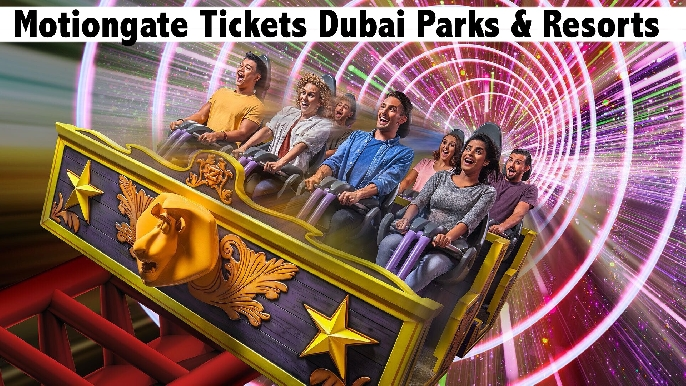 Motiongate Tickets + Dubai Mall Ice Rink - Valid for Residents & Tourists