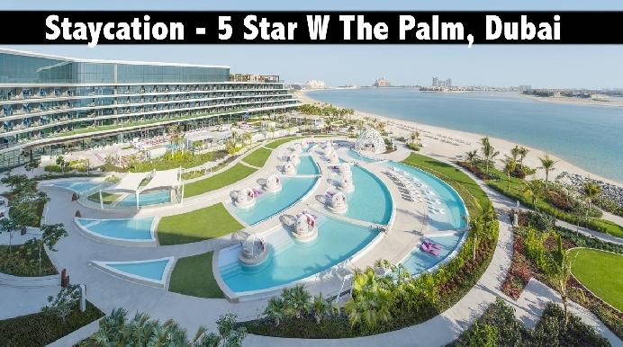 Staycation - 5* W Dubai, The Palm with Half Board from only AED1199