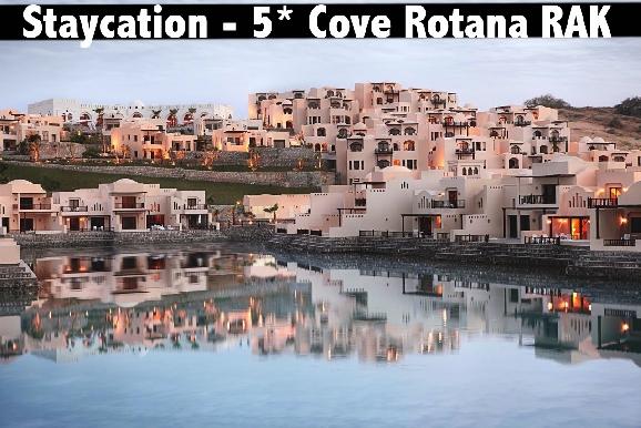 Staycation - 5* Cove Rotana RAK - Half Board & All Inclusive Available