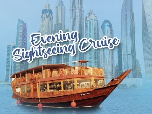 Dubai Marina Evening Sight Seeing Cruise for only AED39