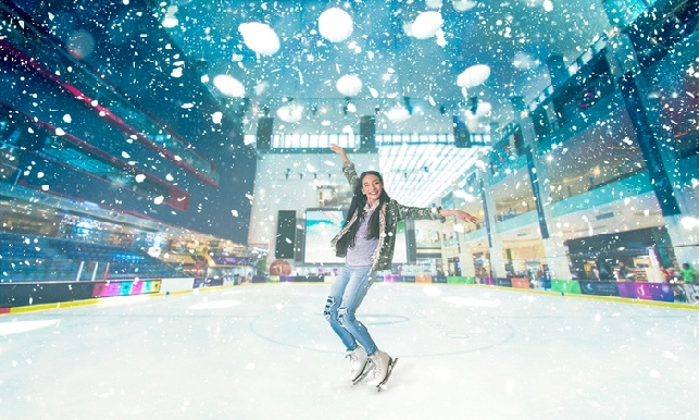 Dubai Mall Ice Rink General Admission with Skates - Valid for All Sessions